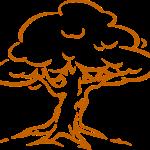 Baum der Stärken - zum Ausfüllen